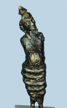 Bronze Sculpture titled 'Untitled 1' by artist Kishor Sharma