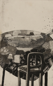 art, printmaking, etching, paper, contemporary