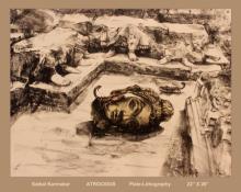 Saibal Karmakar | Atrocious Printmaking by artist Saibal Karmakar | Printmaking Art | ArtZolo.com