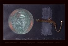 Saibal Karmakar | Economy At Gun Point Printmaking by artist Saibal Karmakar | Printmaking Art | ArtZolo.com