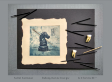 Saibal Karmakar | Is It Survive 2 Printmaking by artist Saibal Karmakar | Printmaking Art | ArtZolo.com