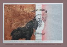 Saibal Karmakar | Story Of Palmira Printmaking by artist Saibal Karmakar | Printmaking Art | ArtZolo.com