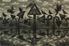 Rahul Dhiman | Untitled 2 Printmaking by artist Rahul Dhiman | Printmaking Art | ArtZolo.com