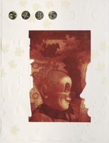 Atin Basak | Imperilled Innocence 2 Printmaking by artist Atin Basak | Printmaking Art | ArtZolo.com