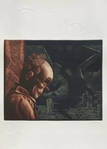 Atin Basak | Metamorphosis 6 Printmaking by artist Atin Basak | Printmaking Art | ArtZolo.com