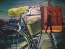 Ajinkya Patil | Acrylic Painting title Alternate Transport on Canvas | Artist Ajinkya Patil Gallery | ArtZolo.com
