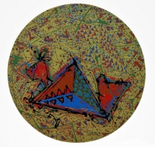 art, printmaking, serigraphy, paper, abstract