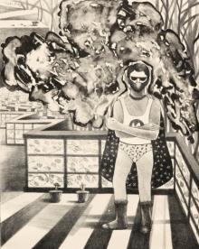 Neeraj Khandka | Common Man Printmaking by artist Neeraj Khandka | Printmaking Art | ArtZolo.com
