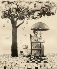 Neeraj Khandka | Exchange Printmaking by artist Neeraj Khandka | Printmaking Art | ArtZolo.com