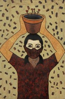 Neeraj Khandka | Oxygen Seller Printmaking by artist Neeraj Khandka | Printmaking Art | ArtZolo.com