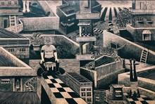 Neeraj Khandka | Stories Of Walls In The Lockdown Printmaking by artist Neeraj Khandka | Printmaking Art | ArtZolo.com