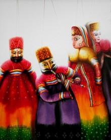 #kathputli #rajasthan#color dress