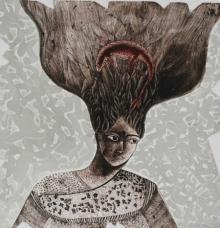Anupama Dey | Chaos Printmaking by artist Anupama Dey | Printmaking Art | ArtZolo.com