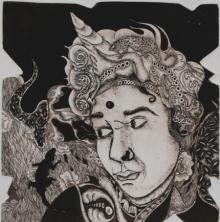 Anupama Dey | Expression 1 Printmaking by artist Anupama Dey | Printmaking Art | ArtZolo.com