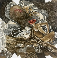 Anupama Dey | Playing Printmaking by artist Anupama Dey | Printmaking Art | ArtZolo.com