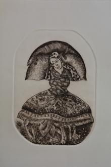 Anupama Dey | Untitled 1 Printmaking by artist Anupama Dey | Printmaking Art | ArtZolo.com