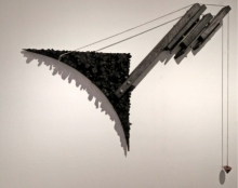 Mixedmedia Sculpture titled 'Santulan' by artist Santanu Dey