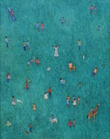 Figurative Acrylic Art Painting title Untitled 2 by artist Debashish Dutta