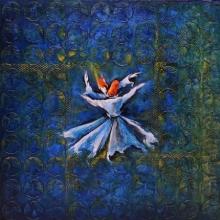 Figurative Mixed-media Art Painting title 'Untitled 1' by artist Radhika Seksaria