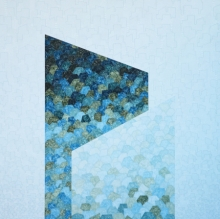 Abstract Acrylic Art Painting title 'Untitled 2' by artist Ishwari Manolikar