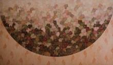 Abstract Acrylic Art Painting title 'Untitled 3' by artist Ishwari Manolikar