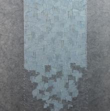 Abstract Acrylic Art Painting title 'Untitled 4' by artist Ishwari Manolikar