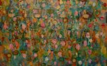 Religious Acrylic Art Painting title 'Buddha' by artist Sunayana Malhotra
