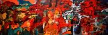 Figurative Acrylic Art Painting title Untitled 1 by artist Sunayana Malhotra