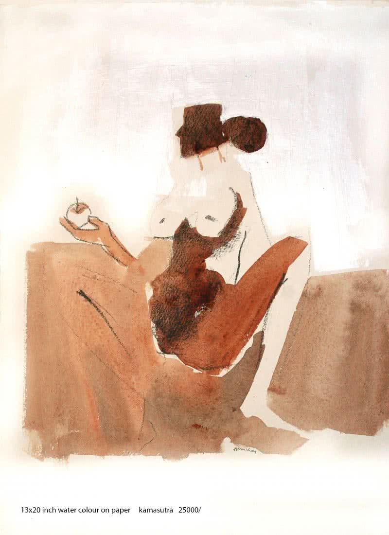 Kamasutra Nude Couple 2