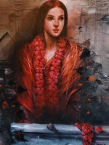 Figurative Acrylic Art Painting title Untitled 1 by artist Sekhar Kar