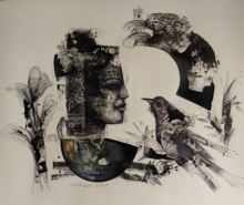 Figurative Mixed-media Art Painting title Untitled 5 by artist Sekhar Kar