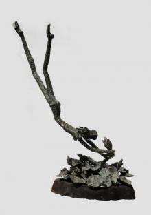 Bronze Sculpture titled 'Dive' by artist Chaitali Chanda