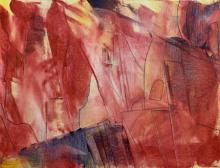 Cityscape Acrylic Art Painting title Cityscape by artist Amit Pithadia