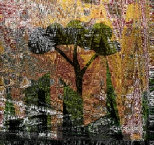 art, digital art, paper, nature