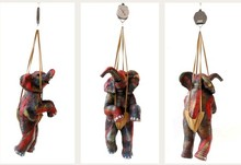 Mixedmedia Sculpture titled 'Weight Of Happiness' by artist Nishchay Thakur
