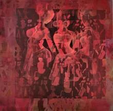 Figurative Acrylic Art Painting title Untitled by artist Zalak Bheda