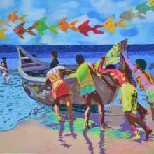 Untouchable Fidelity 2 | Painting by artist Gayatri Artist | acrylic | Canvas