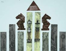 Diksha Dhingra | Different Types Of Chesspawn Printmaking by artist Diksha Dhingra | Printmaking Art | ArtZolo.com