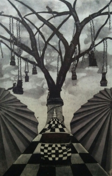 Diksha Dhingra | Games Of Thrones Printmaking by artist Diksha Dhingra | Printmaking Art | ArtZolo.com