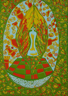 Diksha Dhingra | Untitled 3 Printmaking by artist Diksha Dhingra | Printmaking Art | ArtZolo.com