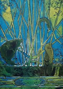 Papil Manna | Sense Of Life Printmaking by artist Papil Manna | Printmaking Art | ArtZolo.com
