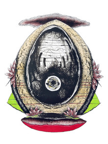Papil Manna | Surprise 2 Printmaking by artist Papil Manna | Printmaking Art | ArtZolo.com
