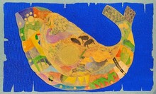 Animals Acrylic Art Painting title 'Golden Era' by artist Ritesh Bhoi