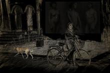 Santosh Jain | Amma Series 3 Printmaking by artist Santosh Jain | Printmaking Art | ArtZolo.com