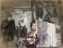 Santosh Jain | Inescapable Digital art Prints by artist Santosh Jain | Digital Prints On Canvas, Paper | ArtZolo.com