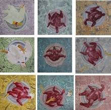 Charandas Jadhav | Monetary Depreciation 1 Printmaking by artist Charandas Jadhav | Printmaking Art | ArtZolo.com