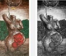 Charandas Jadhav | Tradition Printmaking by artist Charandas Jadhav | Printmaking Art | ArtZolo.com