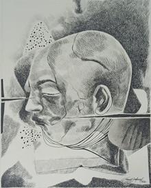 art, drawing, paper, ink. figurative