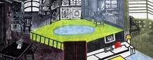 Jayeeta Chatterjee | Yellow Journey 3 Printmaking by artist Jayeeta Chatterjee | Printmaking Art | ArtZolo.com