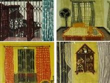 art, printmaking, woodcut, paper, contemporary